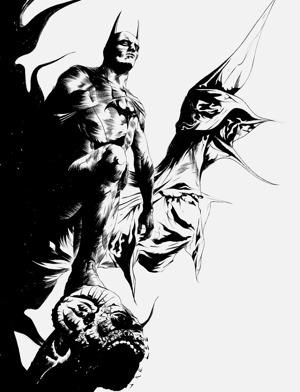 Jae Lee's Batman from the new Batman Superman comic book series