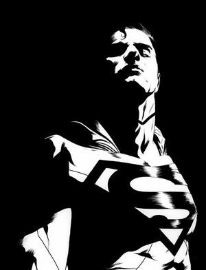 Jae Lee's Superman from the new Batman Superman comic book series