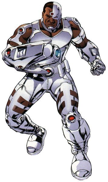 DC's Cyborg