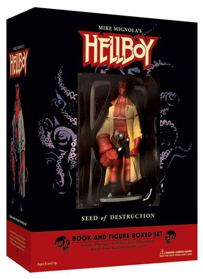 Hellboy Book And Figure Set at TFAW.com