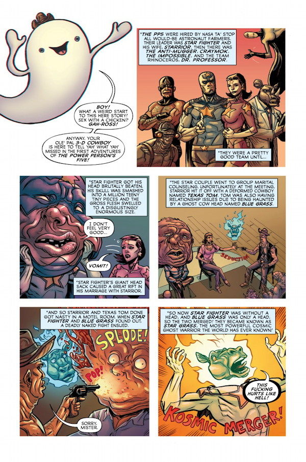 God Hates Astronauts #1 Preview Page 1