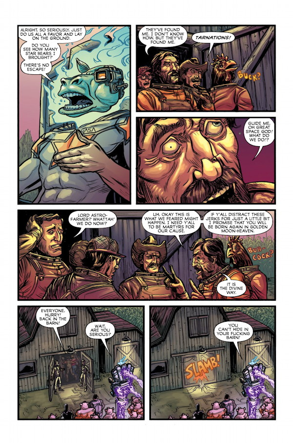 God Hates Astronauts #1 Preview Page 3