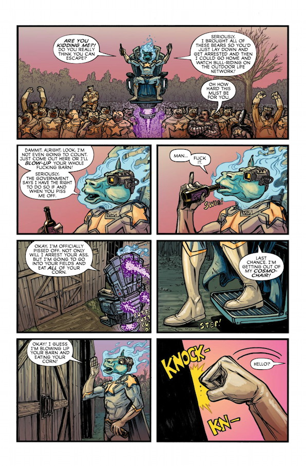 God Hates Astronauts #1 Preview Page 4