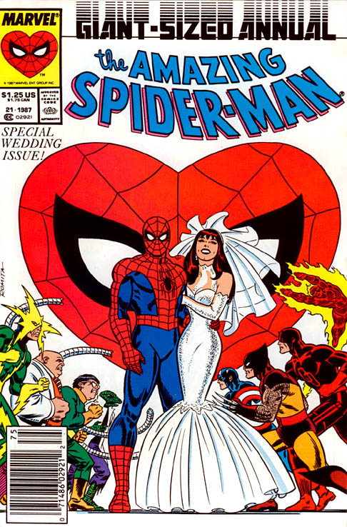 Spider-Man Wedding Annual