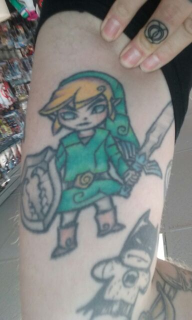 Link from Wind Waker tattoo