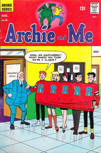 Vintage Archie from the 1960s.