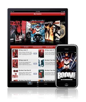 IDW's iPad App
