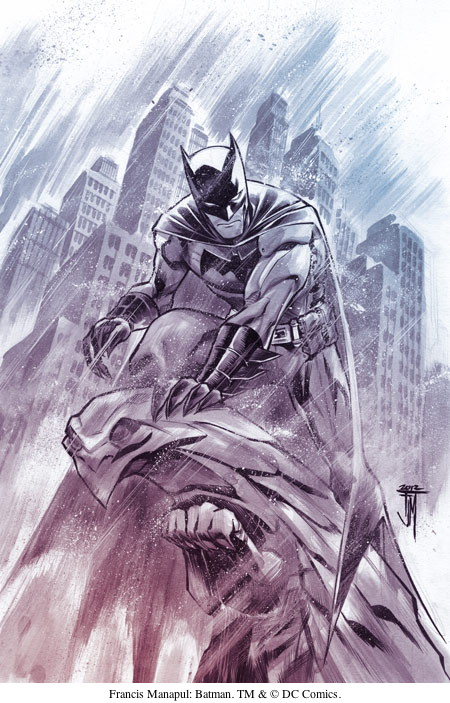 Francis Manapul: Batman. TM & © DC Comics.