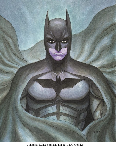 Jonathan Luna: Batman. TM & © DC Comics.
