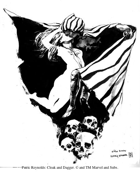 Patrick Reynolds: Cloak and Dagger. © and TM Marvel and Subs.