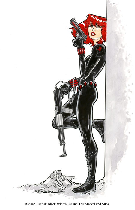 Rahsan Ekedal: Black Widow. © and TM Marvel and Subs.