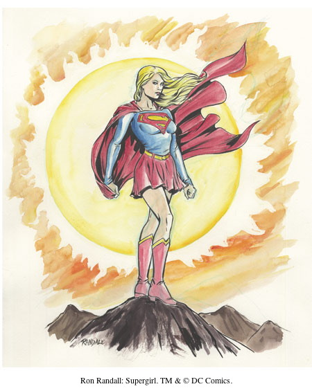 Ron Randall: Supergirl. TM & © DC Comics.