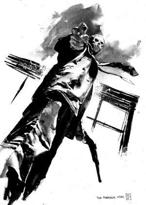 Patric Reynolds CBLDF Sketch 2011