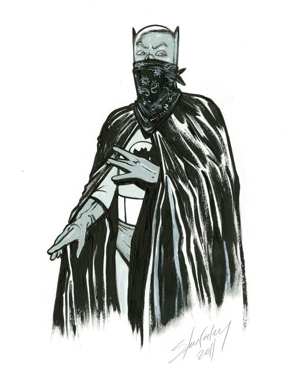 Steve Seeley CBLDF Sketch 2011
