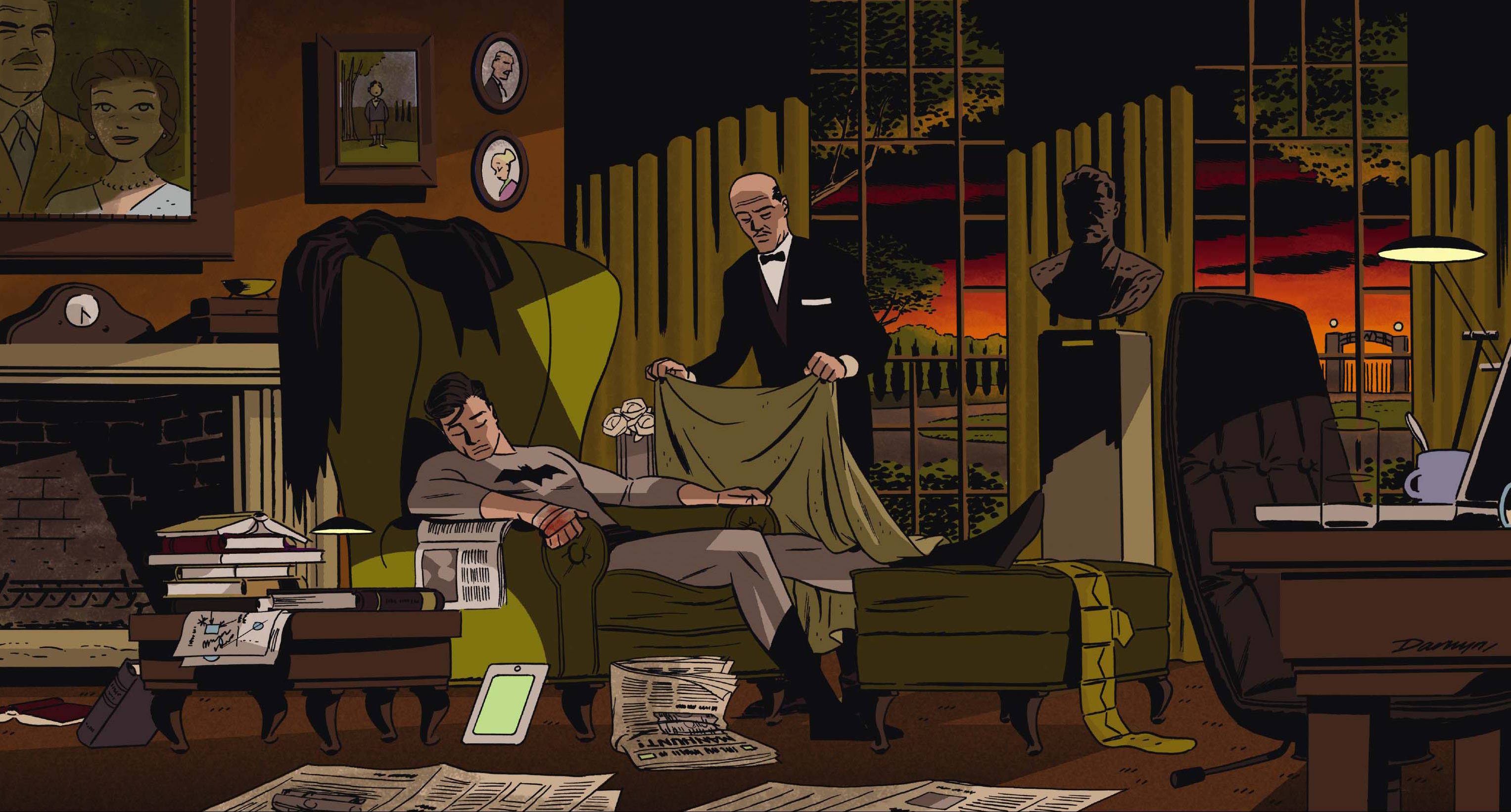 Dective Comics #37 Darwyn Cooke variant cover