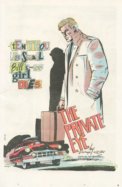 DC's New Talent Showcase #19 - The Private Eye