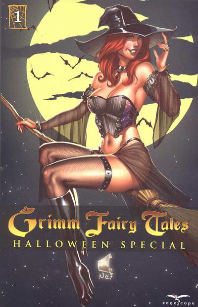 Grimm Fairy Tales Halloween Special 2009 Cover