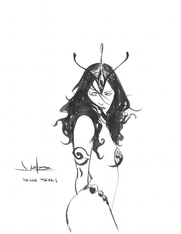 Dejah Thoris by Jae Lee