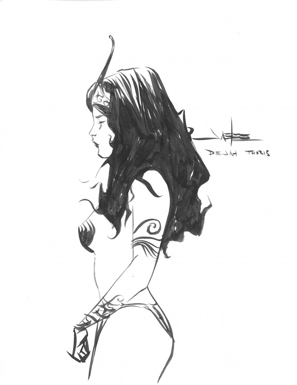 Dejah Thoris by Jae Lee