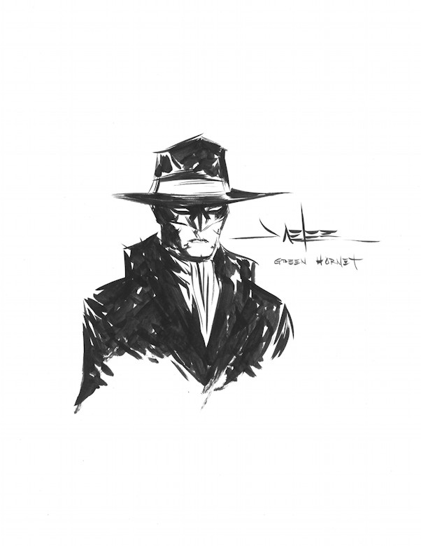 Green Hornet by Jae Lee