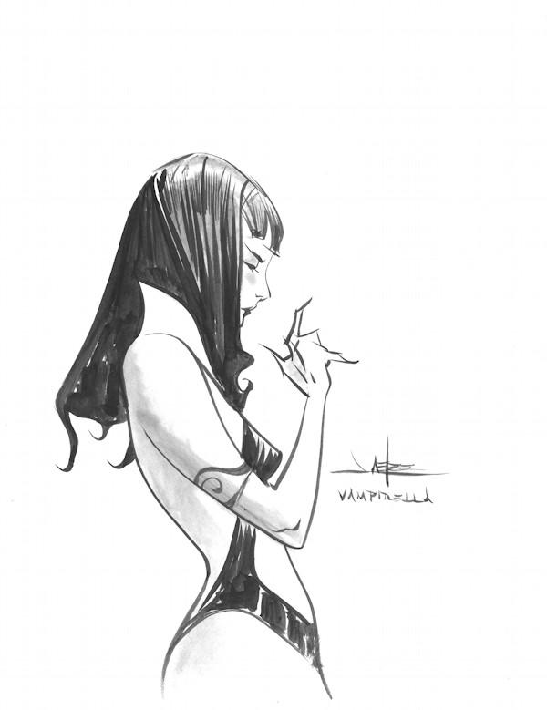 Vampirella by Jae Lee