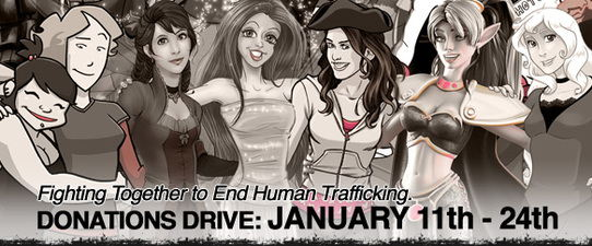 Comic Creators Alliance calls on creators to help end human trafficking.
