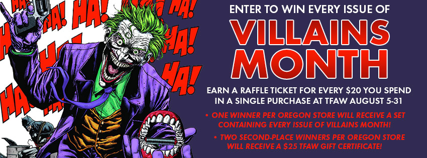 Villains Month Contest: Enter to Win Big at Our Oregon Stores