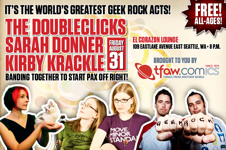 The Doubleclicks PAX Show August 31