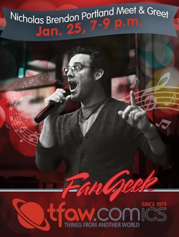 Nicholas Brendon Karaoke TFAW Event