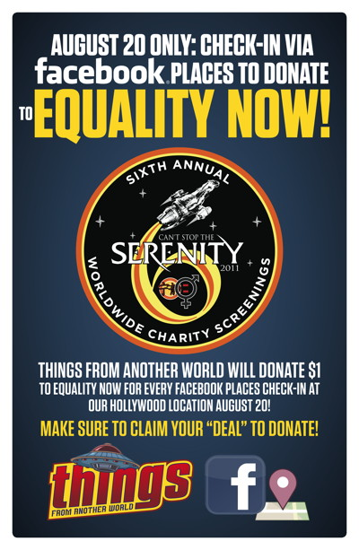 Donate to Equality Now August 20