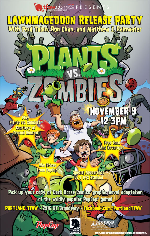 Plants vs. Zombies™: Lawnmageddon Signing With Paul Tobin, Ron Chan, and Matthew J. Rainwater