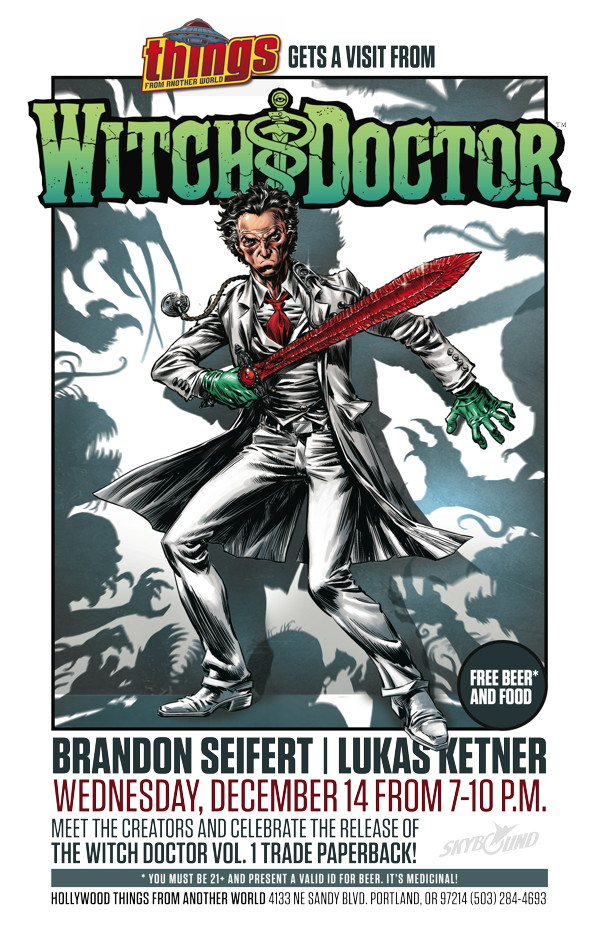 Witch Doctor Comics