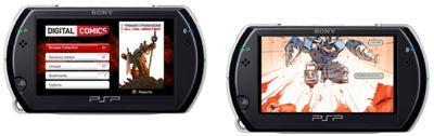 IDW Comics on the PSP