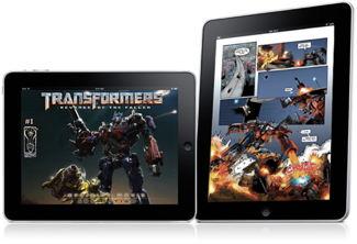 Transformers on the iPad