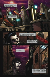 Vitriol: The Hunter #1 Preview Page #1
