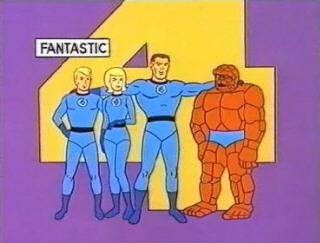 Fantastic Four Animated Series circa 1978.