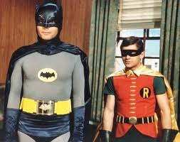 Batman and Robin. Biff! Pow!