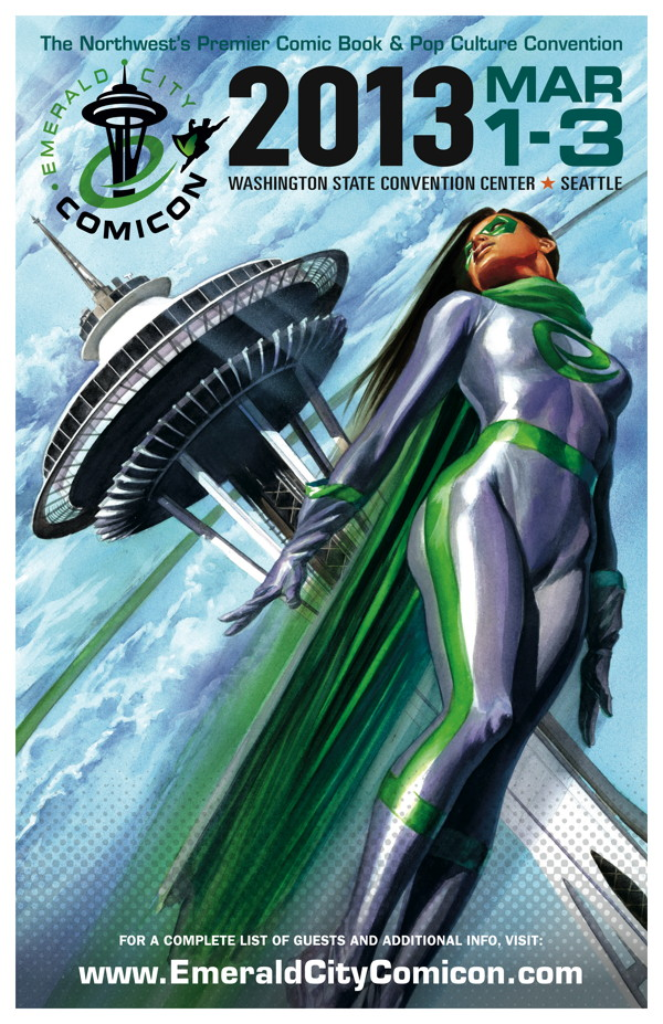 Emerald City Comicon 2013 Poster