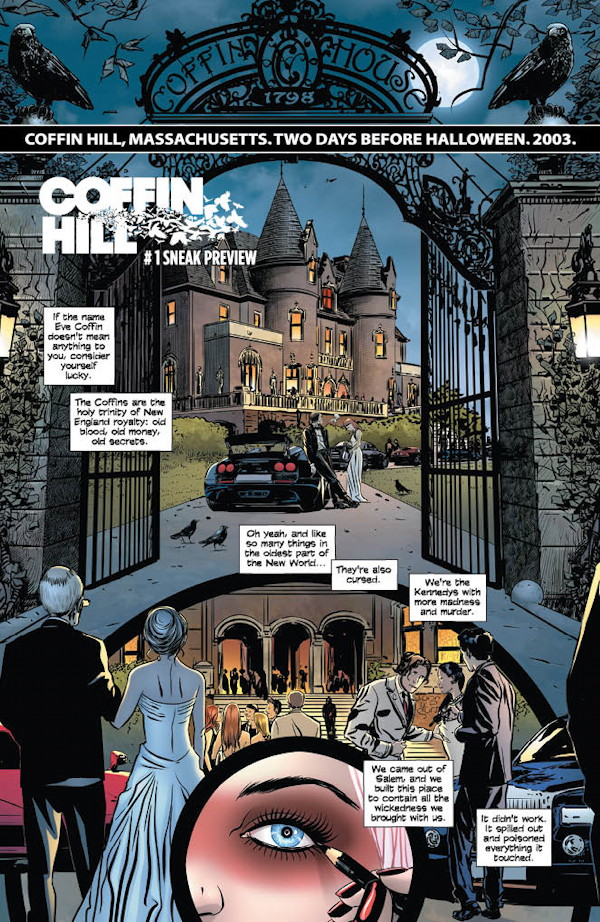 Coffin Hill #1 Preview Page 1