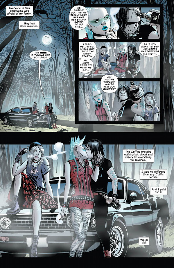 Coffin Hill #1 Preview Page 3