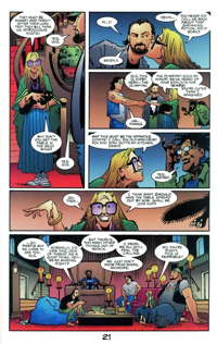 Schutz depicted in comic book form in an issue of Mage.