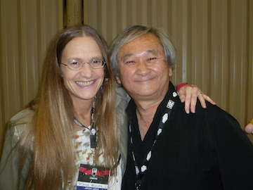 Schutz with Usagi Yojimbo Creator, Stan Sakai at the the Montreal Con.