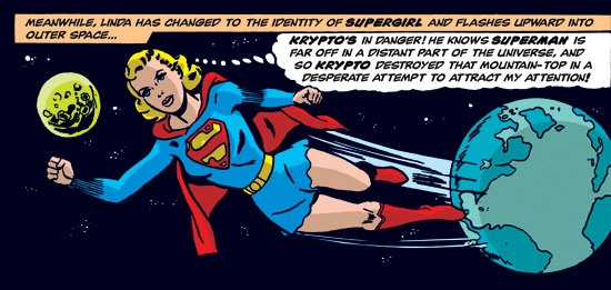 Jim Mooney's Supergirl