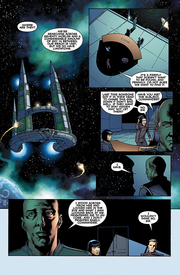Serenity: Leaves on the Wind #1 Preview Page 1