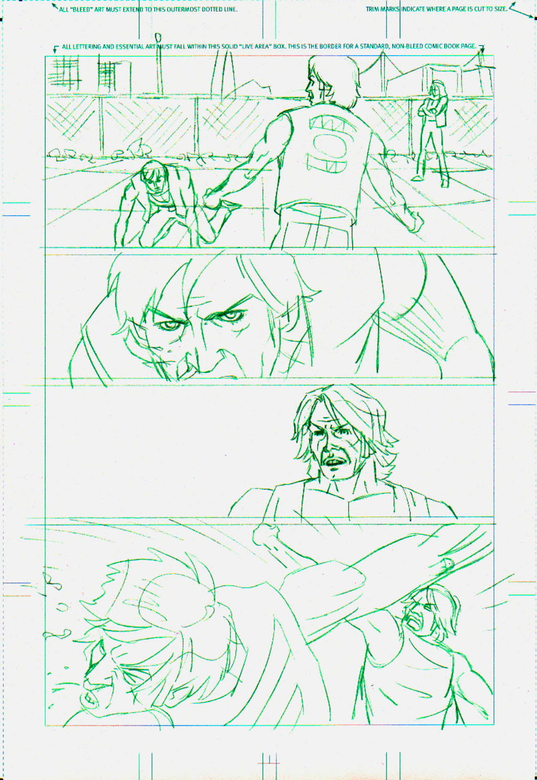 Todd Herman's layouts for page 2