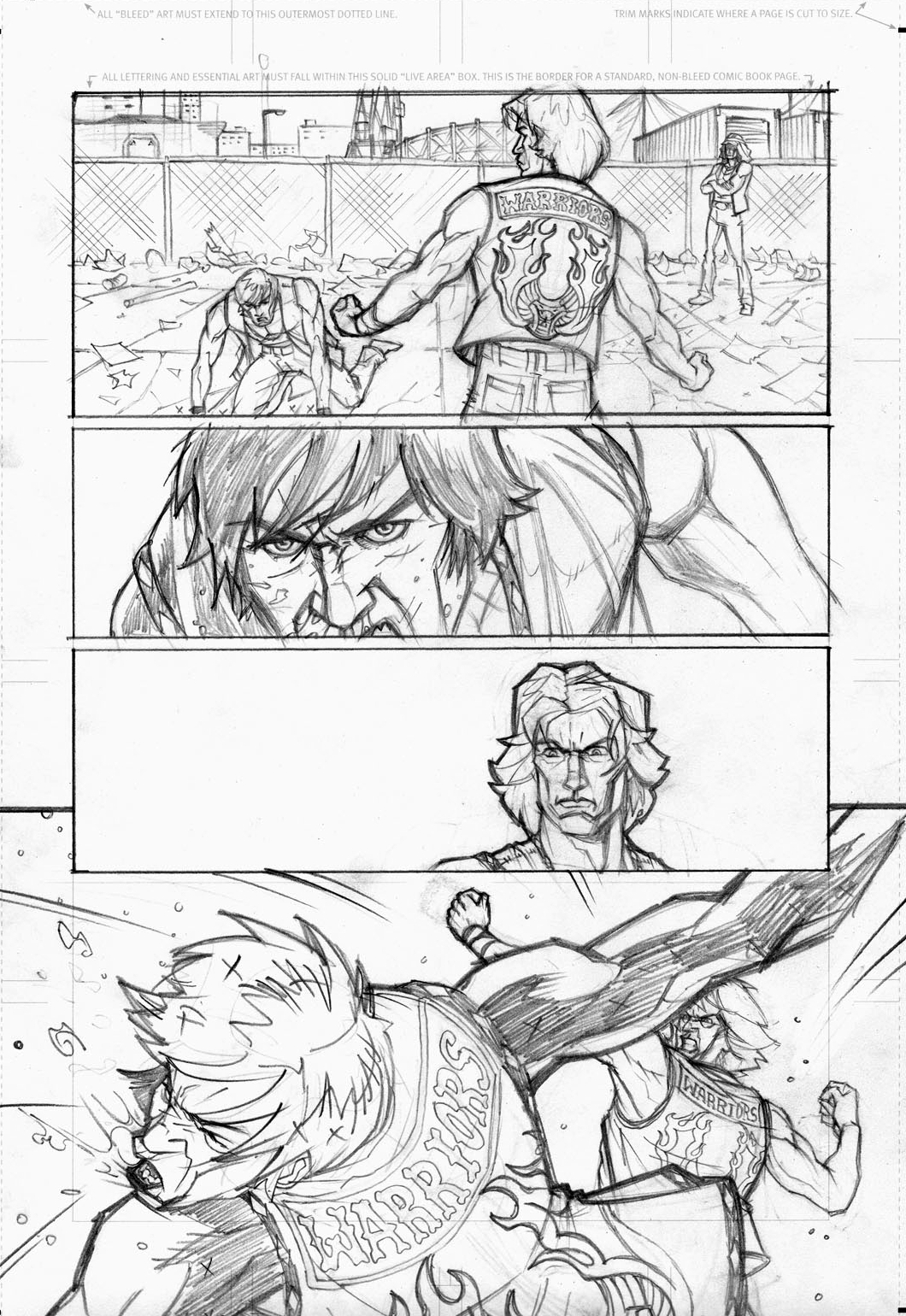 Herb Apon's pencils for page 2