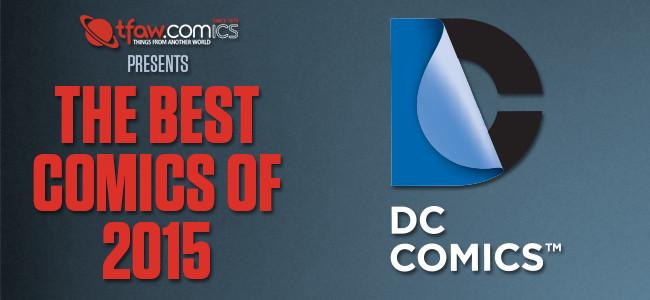 The Best DC Comics of 2015
