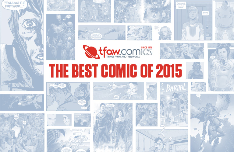 Vote Now For The Best Comics of 2015