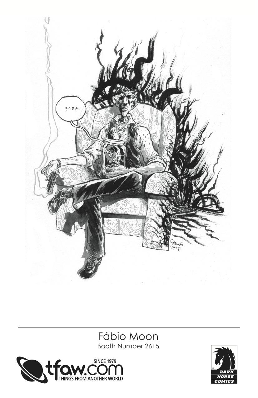 Fabio Moon 2009 CBLDF Sketch