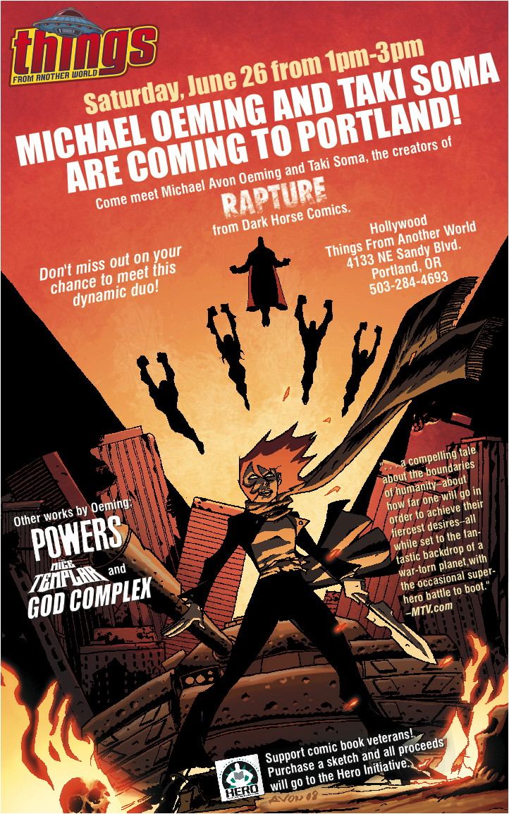 Rapture Oeming Soma